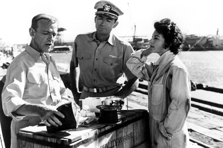 ON THE BEACH, Fred Astaire, Gregory Peck, Ava Gardner, 1959 - FILM STILL